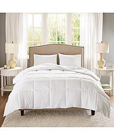 Sleep Philosophy Copper-Infused Microfiber White Full/Queen Down-Alternative Comforter