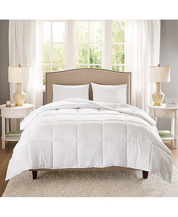 Sleep Philosophy Copper-Infused Microfiber White Twin/Twin XL Down-Alternative Comforter