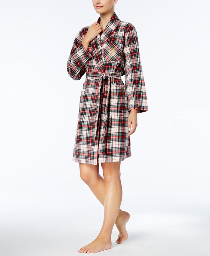 Lauren Ralph Lauren - Printed Short Robe