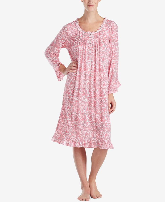 Eileen West - Printed Waltz Nightgown