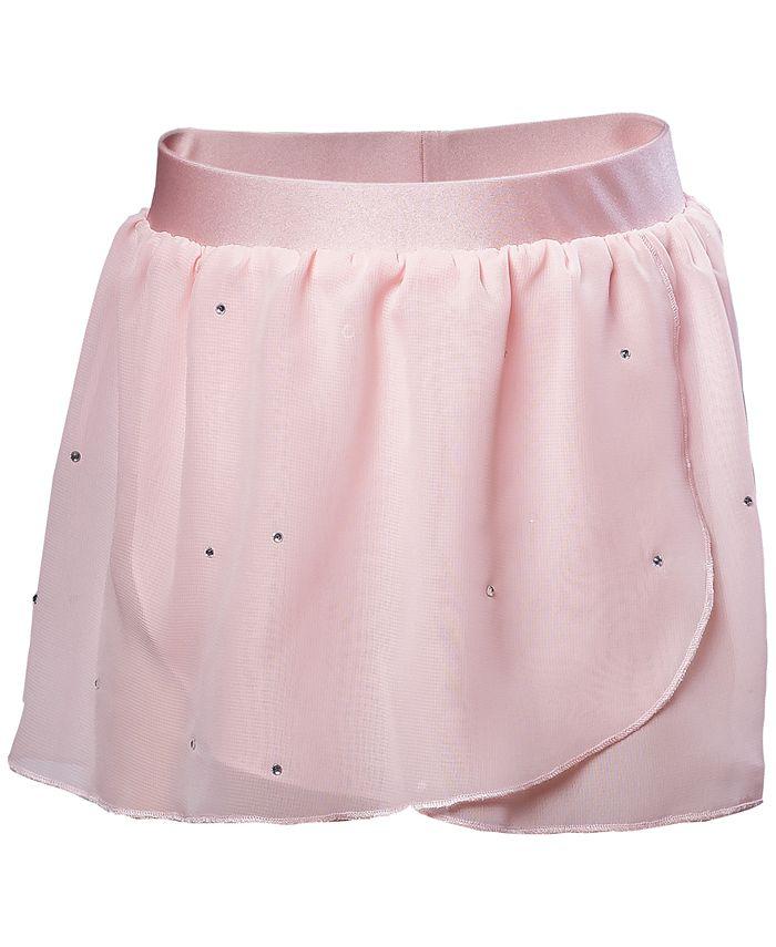 Flo Dancewear - Embellished Georgette Wrap Skirt, Little Girls (2-6X) & Big Girls (7-16)