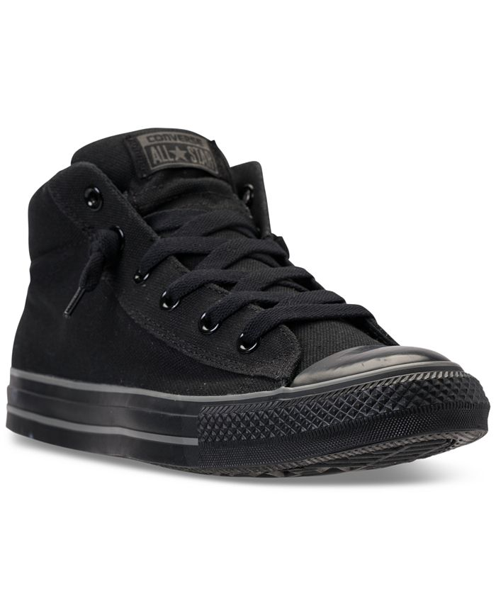 Converse - Men's Chuck Taylor All Star Street Mid Casual Sneakers From Finish Line