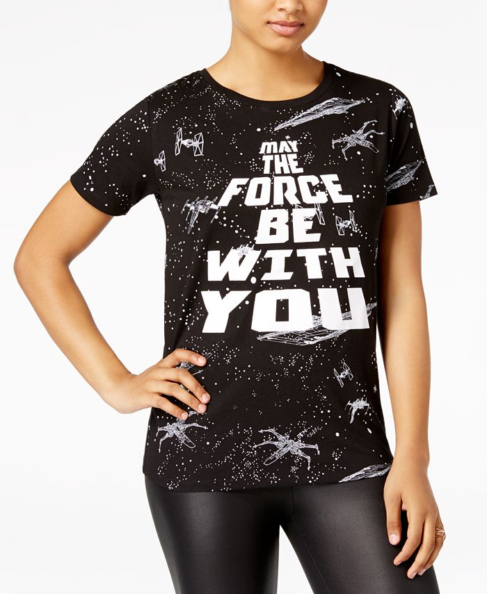 Star Wars - Juniors' May The Force Graphic T-Shirt