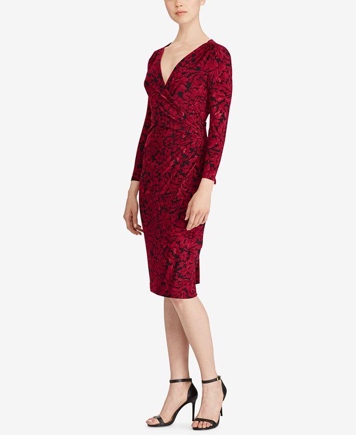 Lauren Ralph Lauren - Jersey Sheath Dress