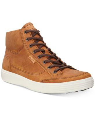 Ecco Men's Soft 7 High Top Sneakers