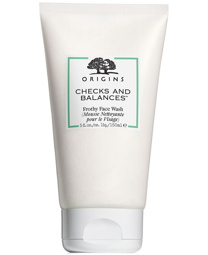 Origins - Checks and Balances Frothy Face Wash, 5-oz.