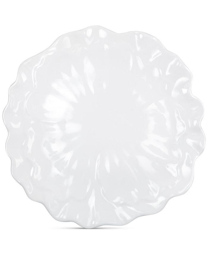 "Q Squared - Peony 16"" Melamine Serving Platter"