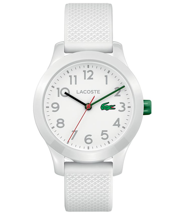 Lacoste - Kids 12.12 White Silicone Strap Watch 32mm