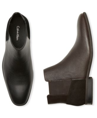 Larry Double Gore Leather Chelsea Boots