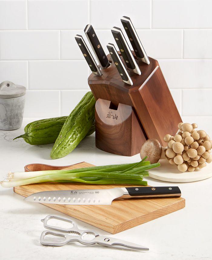 Cangshan - 8-Pc. Knife Set & Block