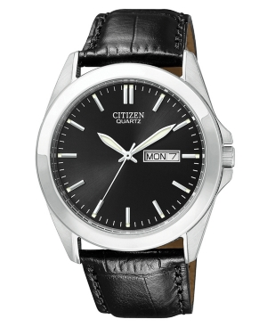 Citizen Watch,  Men's Black Croc Embossed Leather Strap 41mm BF0580-06E
