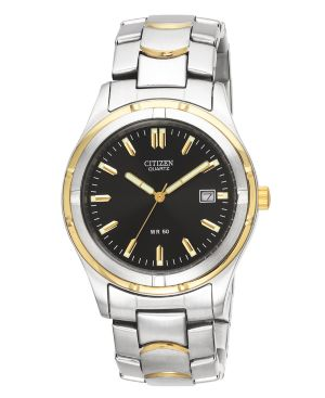 Citizen Men's Two Tone Stainless Steel Bracelet Watch 38mm BK2284-54H