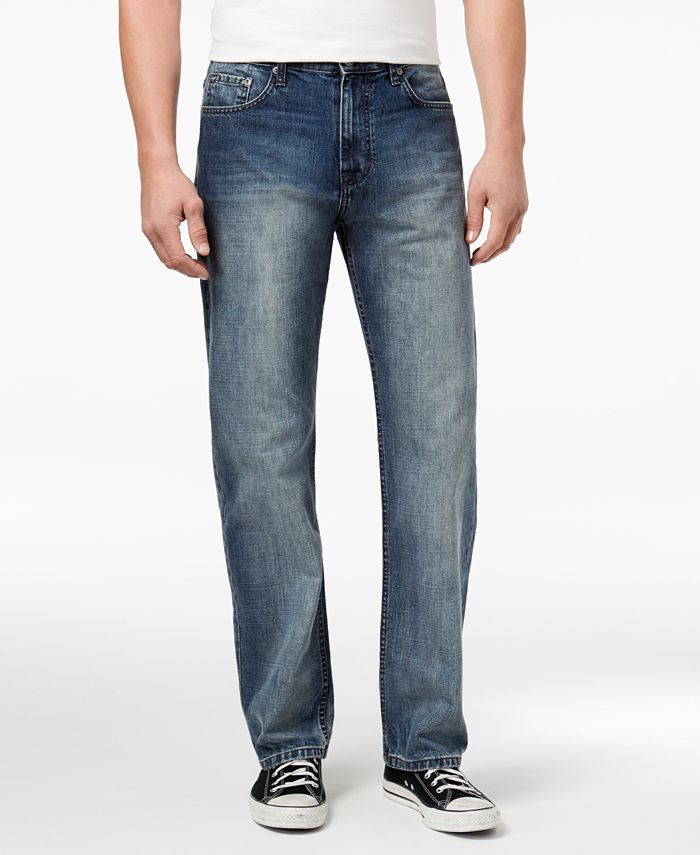 Calvin Klein Jeans - Men's Relaxed-Fit Stretch Jeans