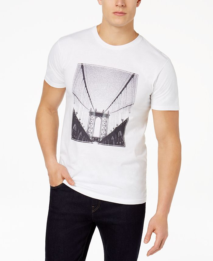 Alfani - Men's Graphic-Print T-Shirt
