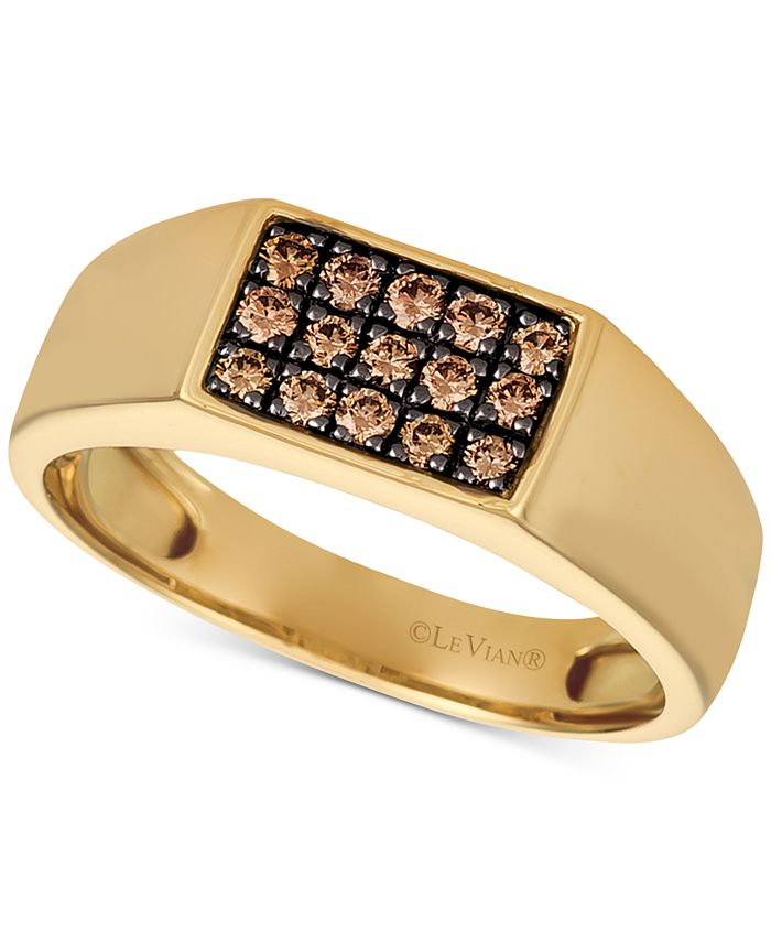 Le Vian - Mens Diamond Ring (3/8 ct. t.w.) in 14k Gold