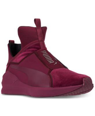 Fierce Velvet Training Sneakers