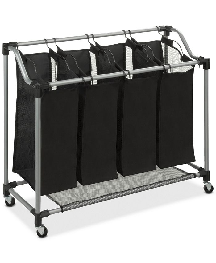 Honey Can Do - Hampers, Deluxe Quad Laundry Sorter