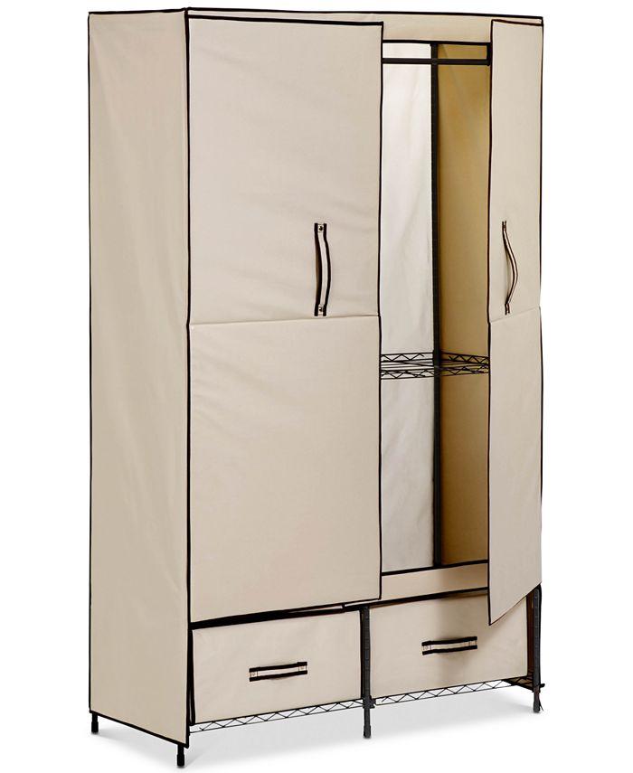 Honey Can Do - Portable Wardrobe Storage Closet