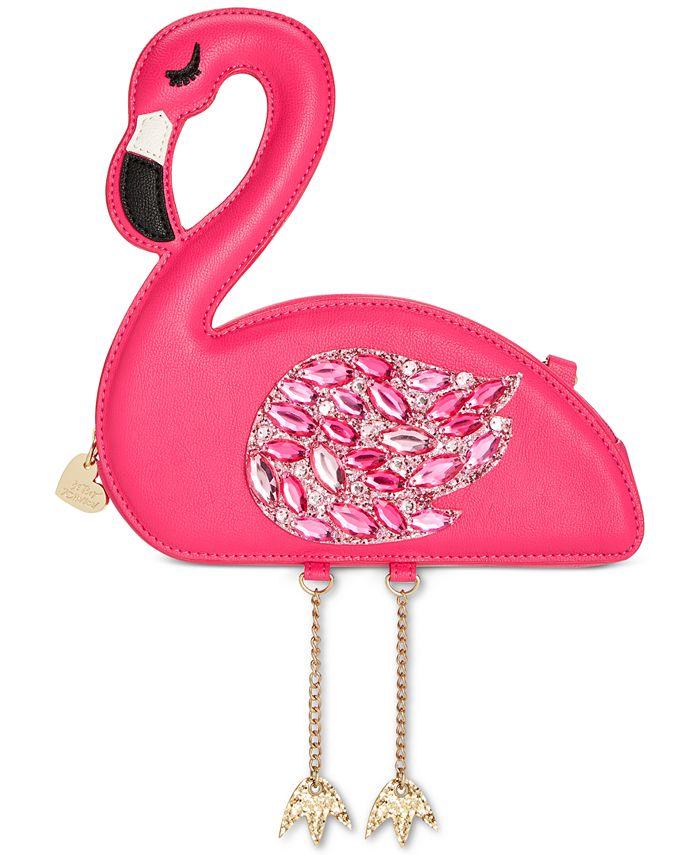 Betsey Johnson - Flamingoals Small Crossbody
