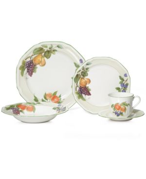 Mikasa Dinnerware, Antique Orchard 5 Piece Place Setting