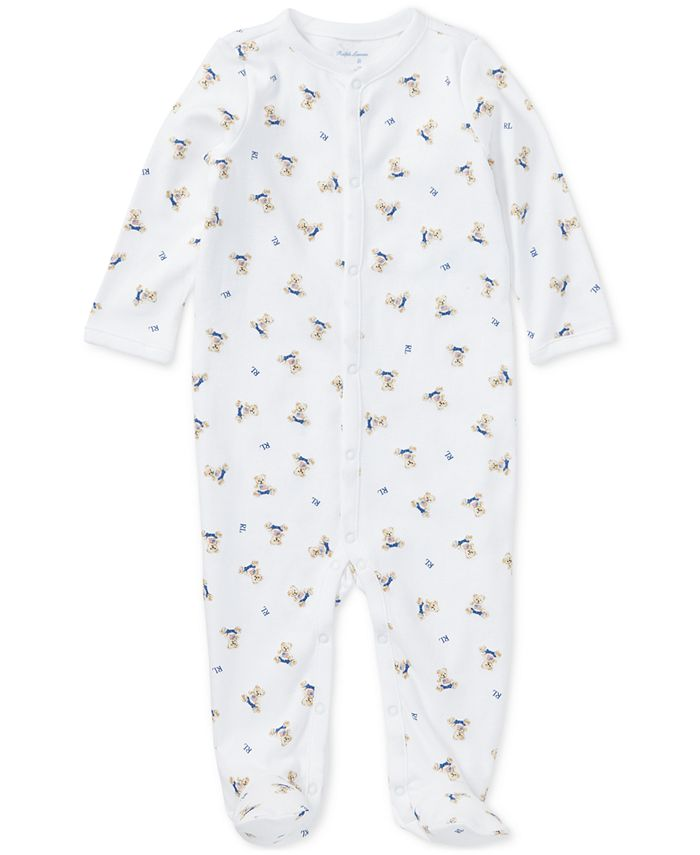 Polo Ralph Lauren - Printed Cotton Coverall, Baby Boys (0-24 months)