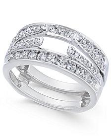 Diamond Enhancer Ring Guard (1 ct. t.w.) in 14k White Gold