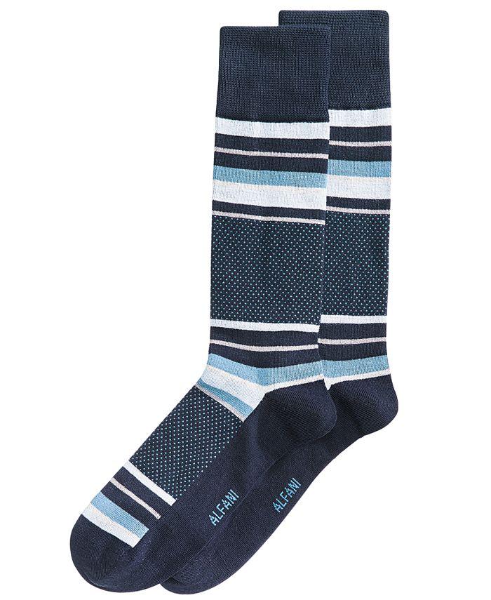 Alfani - Men's Colorblocked Socks