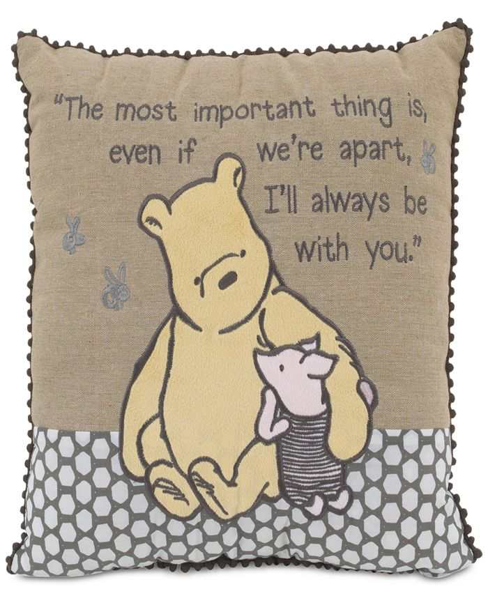 """Disney - """"A Day With Pooh"""" Decorative Pillow"""