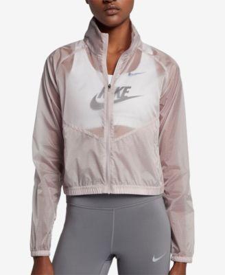 Nike Transparent Running Jacket