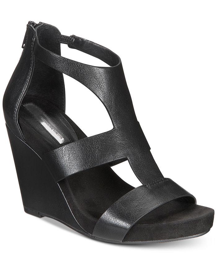 INC International Concepts - Women's Lilbeth Wedge Sandals