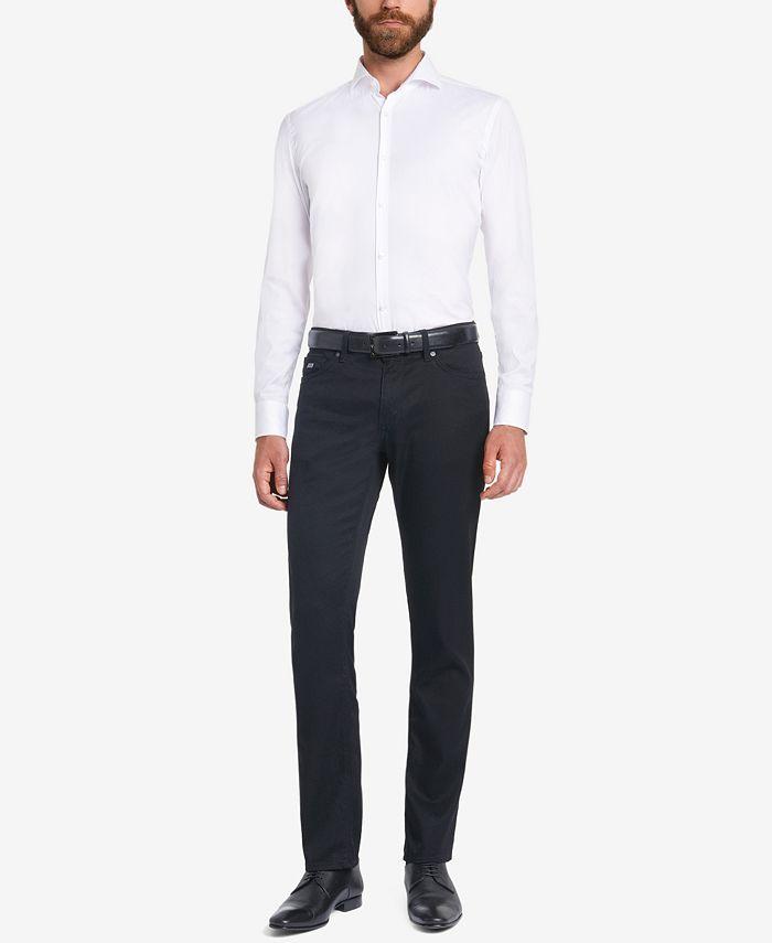 Hugo Boss - Men's Regular/Classic-Fit Stretch Jeans