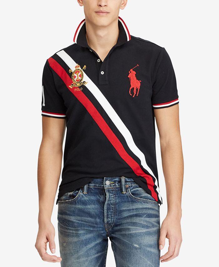 Polo Ralph Lauren Men's Big & Tall Classic-Fit Mesh Polo Shirt ...