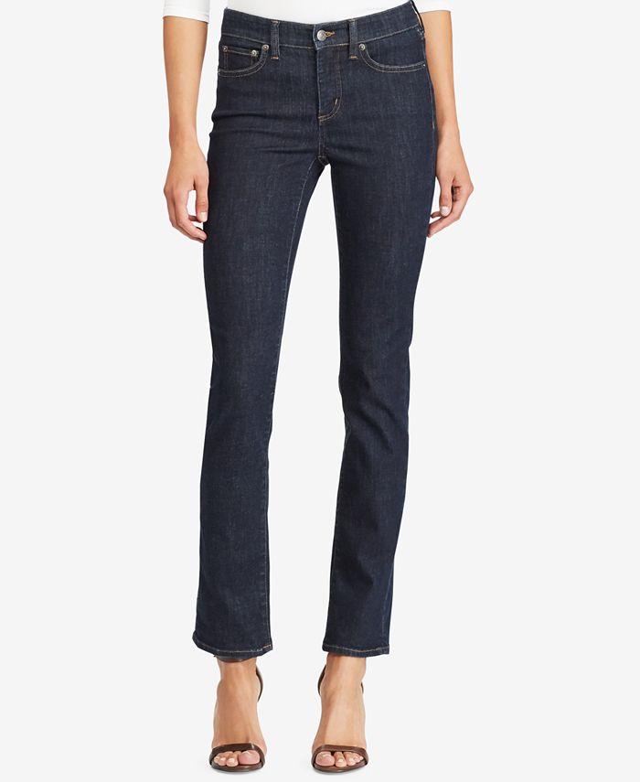 Lauren Ralph Lauren - Ultimate Slimming Premier Straight Jeans