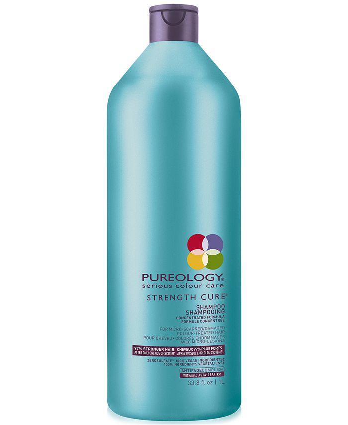 Pureology - Strength Cure Shampoo, 33.8-oz.