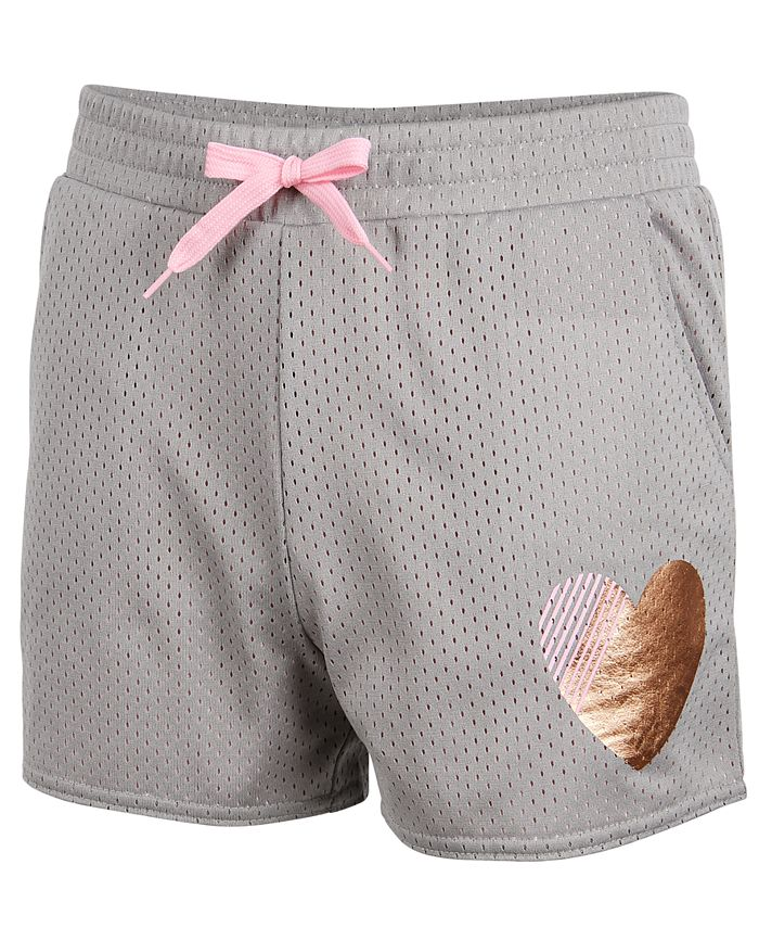 Ideology - Gold Heart Mesh Shorts, Big Girls