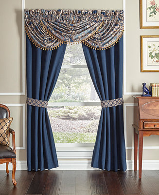 Croscill Aurelio Waterfall Swag 48 X 33 Window Valance Reviews Window Treatments Blinds Macy S