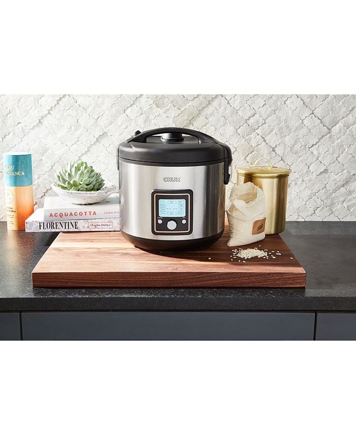 Crux - 14651 20-Cup Fuzzy Logic Programmable Rice Cooker