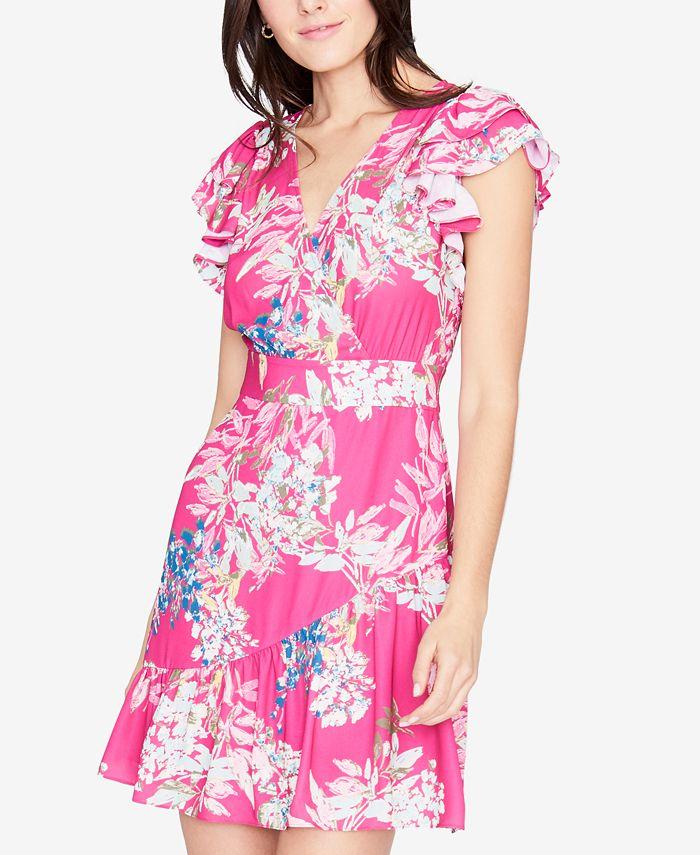 RACHEL Rachel Roy - Floral-Print Fit & Flare Dress