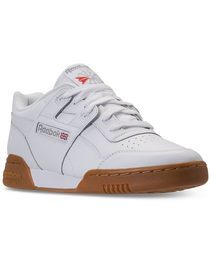 Reebok - Men's Workout Plus Casual Sneakers from Finish Line