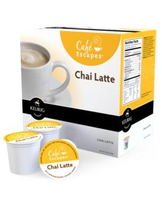 Keurig K-Cup Portion Packs, Café Escape Chai Latte