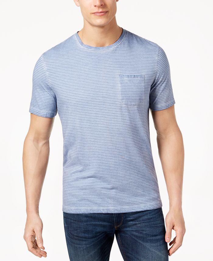 Michael Kors - Men's Striped Pocket T-Shirt