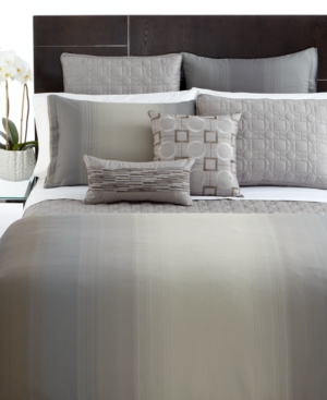 Hotel Collection Bedding, Ombre Stripe Twin Duvet Cover Bedding