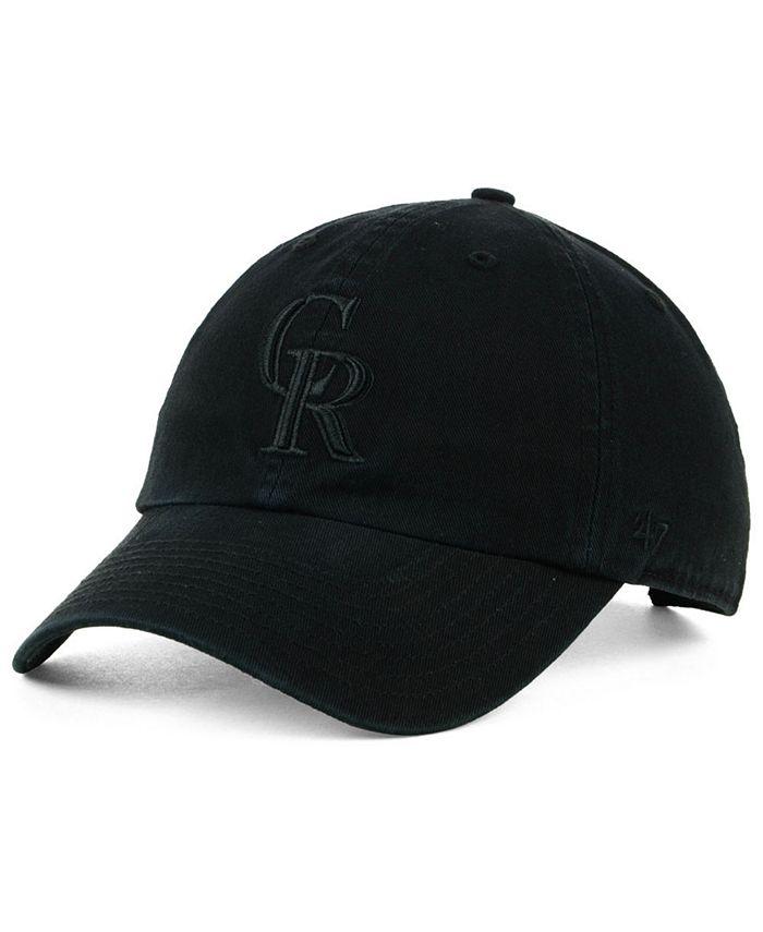 '47 Brand - Black on Black CLEAN UP Cap