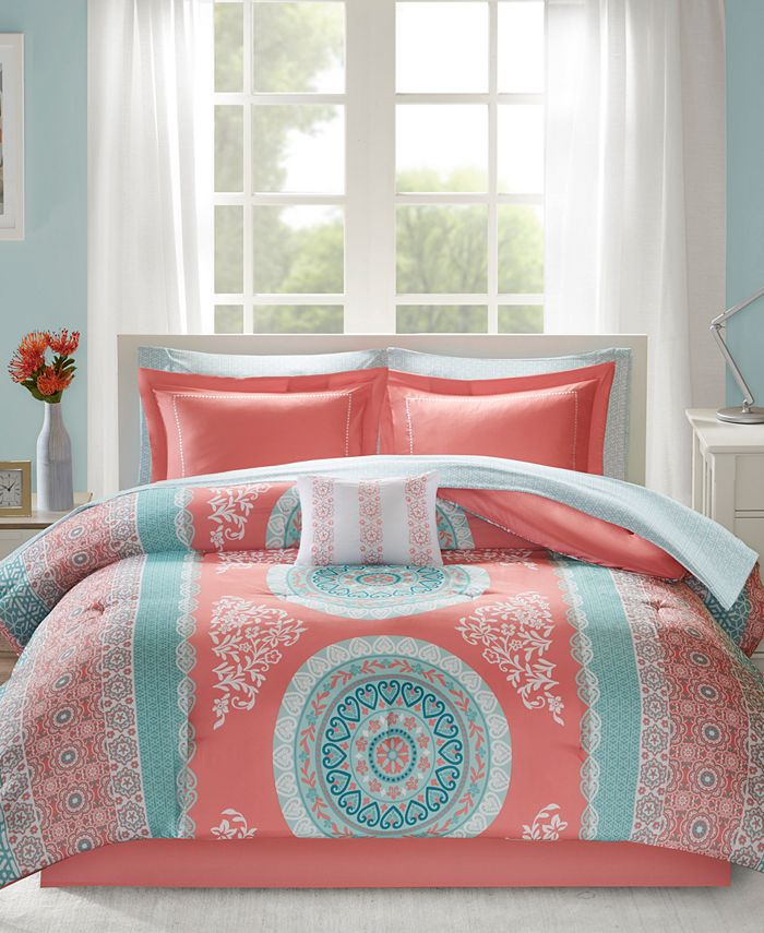 Intelligent Design - Loretta 9-Pc. Full Comforter Set