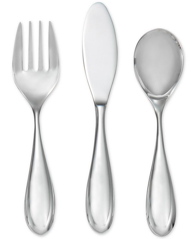 Nambe Kibo Toddler Flatware Set