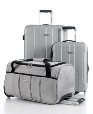 Travel Select Crossing 3 Piece Hardside Luggage Set