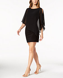 X by Xscape Capelet Sheath Dress