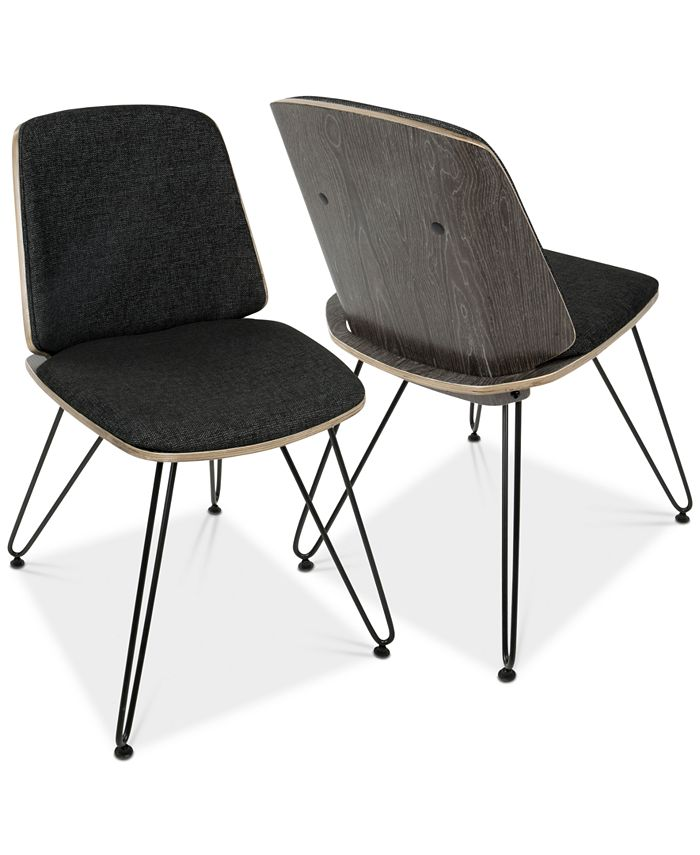 Lumisource - Avery Dining Chair (Set of 2), Quick Ship