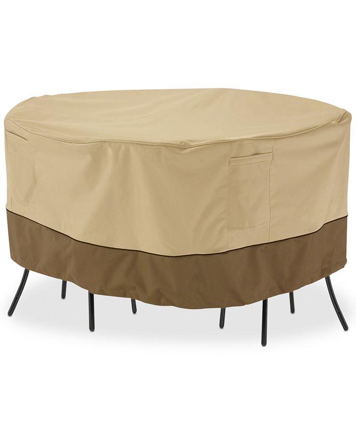 Classic Accessories - Bistro Table Set Cover, Quick Ship