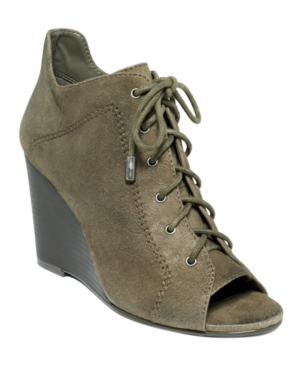 Jessica Simpson Shoes, Constance Wedge Booties Women's Shoes